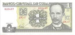 CUBA - 1 Peso 2010 - UNC - Cuba