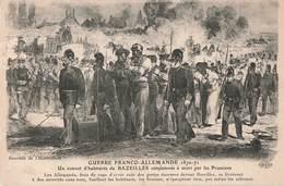 08 Bazeilles Convoi Habitants Condamnés à Mort Par Prussiens Guerre 1870 1871 France Prusse Franco Allemande - France