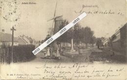 """BEIRENDRECHT-BERENDRECHT""""SOLOFT-MOLEN""""HOELEN N°165  TYPE  2 -UITGIFTE 1901 - Antwerpen"""
