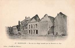 08 Bazeilles Un Coin Du Village Incendié Par Les Bavarois Guerre 1870 1871 France Prusse Franco Allemande - France