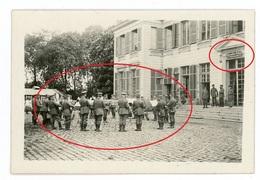 Soldatenleben Front - Frontleben-  Oignies Platzkonzert Frankreich - WWI Photo Allemande  1914-1918 - Oorlog 1914-18