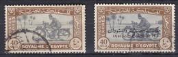 E219 – EGYPTE – EGYPT – EXPRESS – 1944-52 – MOTORCYCLE POSTMAN – Y&T # 4-5 - Egypt