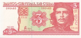CUBA - 3 Pesos 2004 - UNC - Kuba