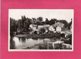 72 Sarthe, LE MANS, L'Huisme à Pontlieue, Vestiges Du Vieux Pont, Animée, Pêcheur, (Dol) - Le Mans