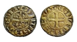 MAHAUT II Denier Comté De Nevers - 476-1789 Monnaies Seigneuriales
