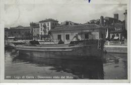 ITALIE - ITALY - ITALIA - Lago Di Garda - Desenzano Visto Dal Molo ( Bateau ) - Brescia