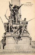 LIMOGES  Monument Des Mobiles - War Memorials