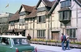 80s MINI WOLSELEY OR RILEY CAR UK ENGLAND AMATEUR 35mm ORIGINAL NEGATIVE Not PHOTO No FOTO - Fotografia