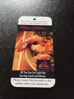 Hotelkarte Room Key Keycard Clef De Hotel Tarjeta Hotel  RENO HILTON - Telefonkarten