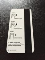 Hotelkarte Room Key Keycard Clef De Hotel Tarjeta Hotel  RENO HILTON - Télécartes