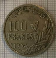 100 Francs 1954, 4 Ième République Française. TTB - N. 100 Francs