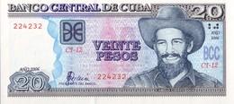 CUBA - 20 Peso 2006 - UNC - Cuba