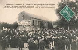08 Bazeilles Cérémonie Remise Maison Des Dernieres Cartouches Par Le Gaulois Au Souvenir Français 39e Anniversaire - Frankrijk