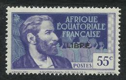 AFRIQUE EQUATORIALE FRANCAISE - AEF - A.E.F. - 1941 - YT 108** - Neufs