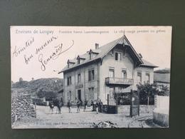 Environs De Longwy Frontière Franco Luxembourgeoise La Côte Rouge Pendant Les Grèves - Longwy