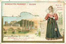 CHROMOS - BISCUITS PERNOT  - CHATEAU D'ANGERS - Vieux Papiers