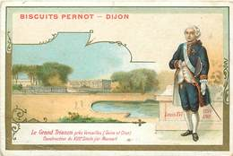 CHROMOS - BISCUITS PERNOT  - LE GRAND TRIANON - Vieux Papiers