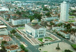 MANAUS - Vista Partial Com O Teatro Amazonas - Manaus