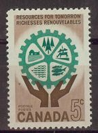 Canada 1961. Recursos Naturales . Sc=395 (**) - 1952-.... Règne D'Elizabeth II