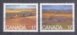 Canada 1980. Alberta Y Saskatchewan . Sc=683-84 (**) - 1952-.... Règne D'Elizabeth II