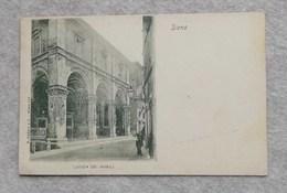 Cartolina Postale Italiana Siena - Loggia Dei Nobili - Siena