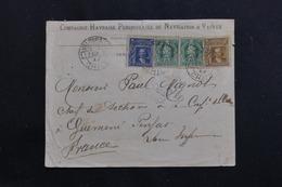CHILI - Enveloppe Commerciale De Valparaiso Pour La France En 1905, Affranchissement Plaisant - L 60829 - Chile