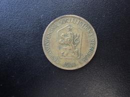 TCHÉCOSLOVAQUIE : 1 KORUNA   1971    KM 50      TTB - Tschechoslowakei