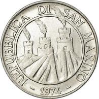Monnaie, San Marino, 10 Lire, 1974, Rome, TTB+, Aluminium, KM:33 - Saint-Marin
