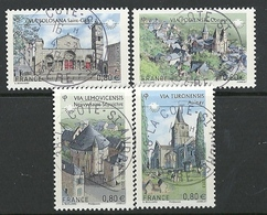 FRANCIA 2013 - YV 4725/8 - Cachet Rond - France