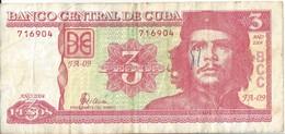 CUBA - 3 Pesos 2004 - Kuba