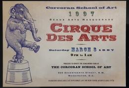 Cirque Des Arts Carte Postale - Circus