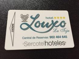 Hotelkarte Room Key Keycard Clef De Hotel Tarjeta Hotel   LOUXO LA TOJA  CASINO - Sin Clasificación