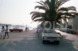 80s VW VOLKSWAGEN K70 OPEL REKORD SANTANDER ESPANA SPAIN AMATEUR 35mm ORIGINAL NEGATIVE Not PHOTO No FOTO - Fotografia