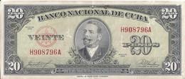 CUBA - 20 Pesos 1958 - Kuba