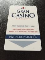 Hotelkarte Room Key Keycard Clef De Hotel Tarjeta Hotel  ALEXANDRA BARBELONA GRAN CASINO - Sin Clasificación