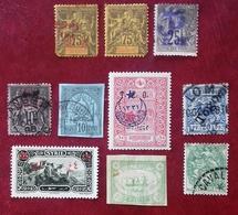 France, Timbres Des Colonies, Divers états Et Origines Différentes. - Collections (sans Albums)
