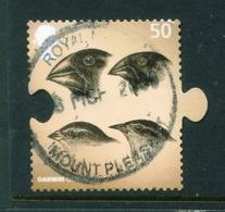 GREAT BRITAIN  -  2009 Charles Darwin 50p Used As Scan - Gebruikt