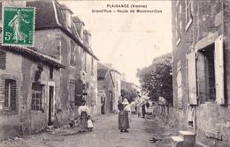 Plaisance, Grand'Rue, Route De Montmorillon - Autres Communes