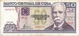 CUBA - 50 Pesos 2009 - Cuba