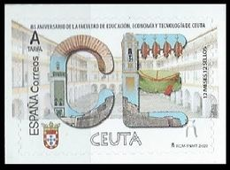 ESPAGNE SPANIEN SPAIN ESPAÑA 2020 12 MONTHS MESES 12 STAMPS SELLOS: CEUTA MNH ED 5364 YT 5120 MI 5417 - 1931-Today: 2nd Rep - ... Juan Carlos I