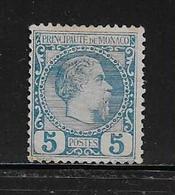 MONACO ( MC1 - 6 )  1885  N° YVERT ET TELLIER  N° 3  NSG - Monaco