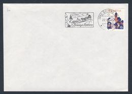 Switzerland Schweiz Suisse 1976 Brief Cover Enveloppe - Brienz-Rothorn-Bahn - 1892 - Zahnradbahn / Rack Railway - Eisenbahnen