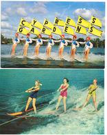 Lot 2 AK Wasserski - Water Skiing, A Thrilling Sport - Florida's Cypress Gardens Ski Um 1960 - Ski Nautique
