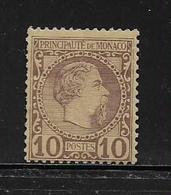 MONACO ( MC1 - 9 )  1885  N° YVERT ET TELLIER  N° 4  N* - Monaco