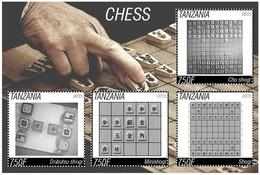 Jeu Stamp D'échecs - Schach