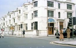 80s AUSTIN TAXI CRAVEN ROAD LONDON UK ENGLAND AMATEUR 35mm ORIGINAL NEGATIVE Not PHOTO No FOTO - Fotografia