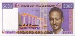 DJIBOUTI - 5000 Francs UNC - Djibouti