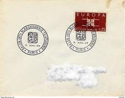 CL448 Cachet Comm GF/ YvT 1396 Salon Blanchisserie Teinturerie Paris  11 11 1963 - Marcophilie (Lettres)
