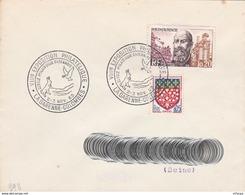CL766 Cachet Comm. GF/YvT 1385 Expo Philatélique 2-3 11 1963 La Garenne-colombes - Marcophilie (Lettres)