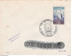 CL1004 Cachet Comm. GF/YvT 1454VIIè Centenaire De Pont Saint Esprit 11-12 09 1965 - Marcophilie (Lettres)